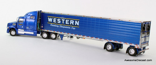 DCP 1:64 Western Star 5700XE w/ 53' Refrigerated Spread-Axle Trailer: Western Distributing