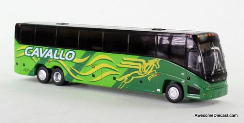 Iconic Replica 1:87 MCI J4500 Bus: Cavallo Bus Lines