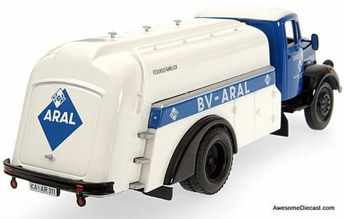 Minichamps 1:43 Mercedes L3500 Gas Tanker: Aral Fuels