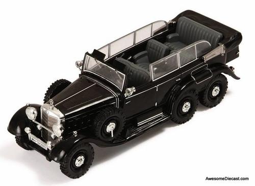 IXO 1:43 1938 Mercedes W31 Type G4 Six-Wheeler