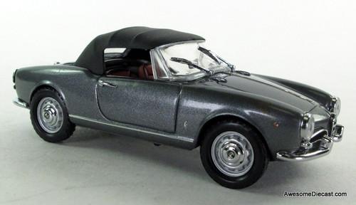 Detail Cars 1:43 1958 Alfa Romeo Giulietta Spyder W/ Soft Top