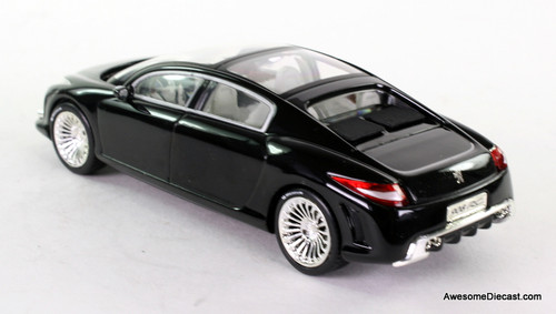 Norev 1:43 2006 Peugeot 908 RC Concept Car Mondial De Paris - Black