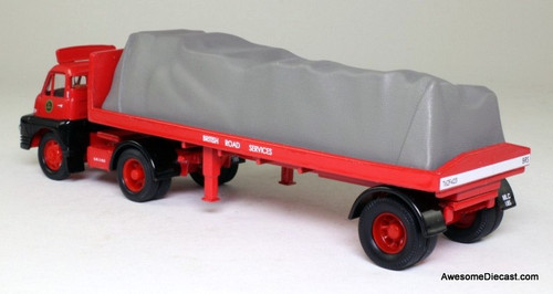 Corgi 1:50 Bedford S Type Tractor Unit w/ Flatbed Trailer