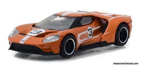 GreenLight 1:64 2017 Ford GT40 Mk II Tribute #5, Copper