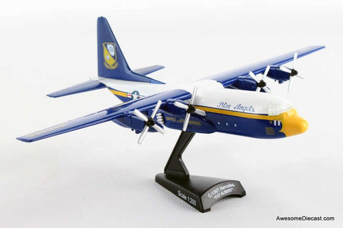 Postage Stamp 1:200 Boeing C-130 Hercules Fat Albert Blue Angels