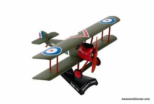Postage Stamp 1:63 Sopwith F.I Camel Bi-Plane