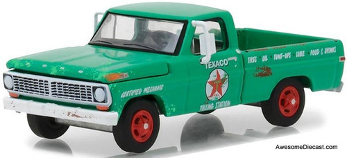 Greenlight 1:64 1970 Ford F-100: Texaco Filling Station GL41040-D