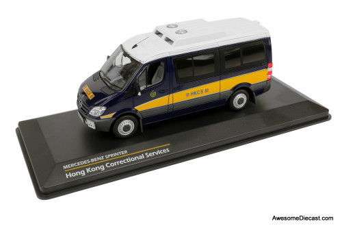 Tiny Mercedes-Benz Sprinter Hong Kong Correctional Services