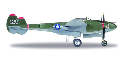 Herpa 1:72 P-38 Lightning Cap. V.E. Jett 475th Fighter Group
