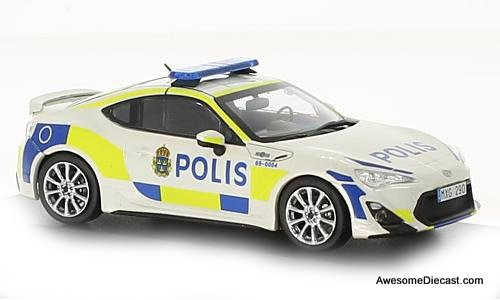 J-Collection 1:43 2013 Toyota GT86: Swedish Police