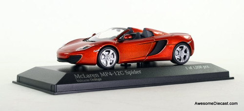 Minichamps 1:43 2012 McLaren MP4-12C Spider