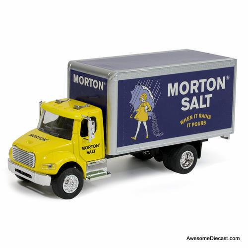 MNDs 1:48 Freightliner M2 Box Truck: Morton Salt