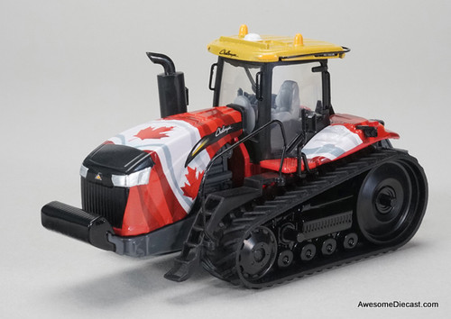 SpecCast 1:64 Challenger MT865E Tracked Tractor with Canadian Flag Graphics