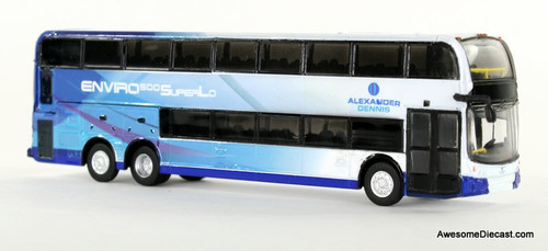 Iconic Replica 1:87 Alexander Dennis Enviro 500 Double Decker Bus: Corporate 3/4 Front 87-0085
