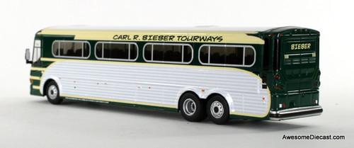 Iconic Replica 1:87 MCI D4505 Motorcoach: Fallen Flag   Bieber Tourways