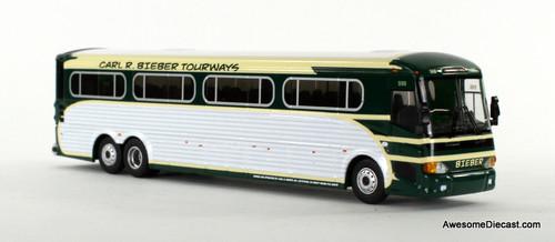 Iconic Replica 1:87 MCI D4505 Motorcoach: Bieber Tourways