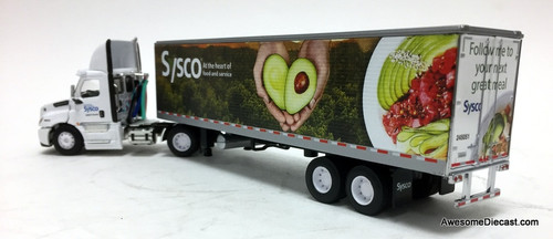 DCP 1:64 Freightliner Cascadia w/ 40' Food Trailer: SYSCO 50th Anniversary
