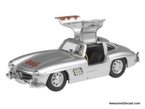 Schuco 1:43 1955 Mercedes-Benz 300 SL: N # 445 Mille Miglia