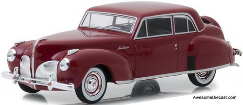 Greenlight 1:43 1941 Lincoln Continental, Mayfair Maroon