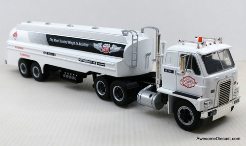 Iconic Replica 1:43 IH RDFC-405 Emeryville Tractor and Tanker: Phillips 66 Aviation