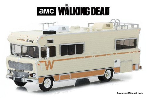 GreenLight 1:43 1973 Winnebago Chieftain: The Walking Dead - Dale's