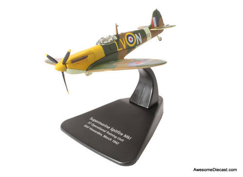 Oxford 1:72 Supermarine - Spitfire MKI 57 Operational Training Unit RAF Hawarden March 1942