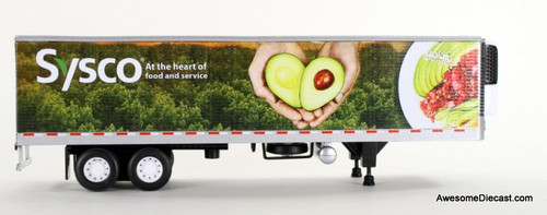 DCP 1:64 40' Refrigerated Trailer: SYSCO / Heart of Food & Service