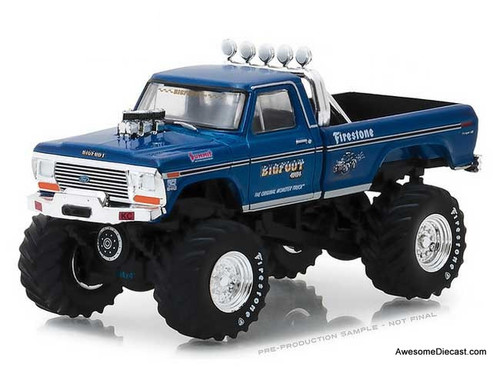 Greenlight 1:43 Bigfoot #1 The Original Monster Truck (1970) - 1974 Ford F-250