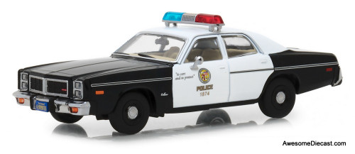 Greenlight 1:43  1977 Dodge Monaco Metropolitan Police: The Terminator (1984)