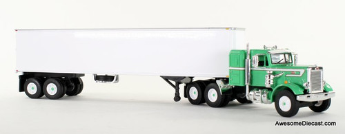 First Gear 1:64 Peterbilt 351 Tractor w/40′ Vintage Van Trailer
