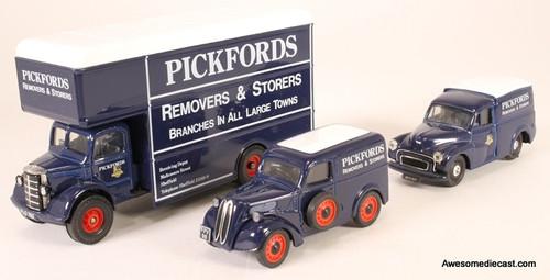 Corgi 1:50 Set of 3 Removal Trucks & Van: Pickfords