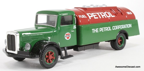 Corgi 1:50 White Gas Tanker: The Petrol Corporation