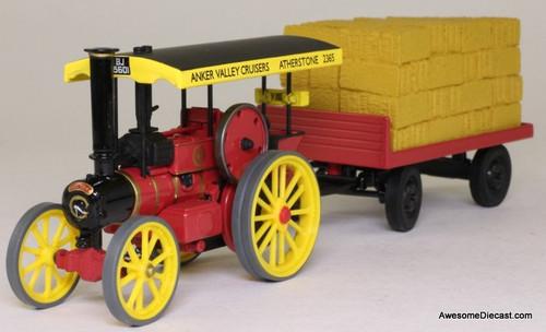 Only One! Corgi 1:50 Garrett Road Tractor & Flatbed Trailer- Anker Valley