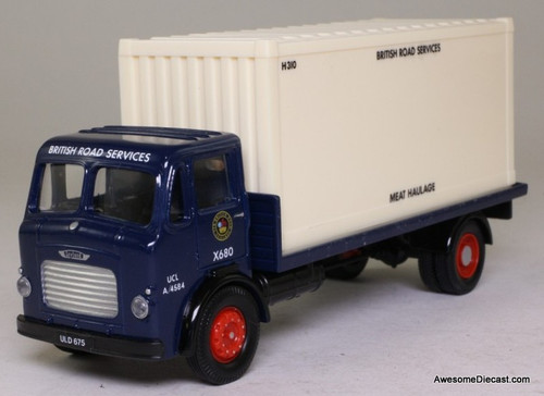 Corgi 1:50 Leyland 4 Wheel Flatbed & Container Set