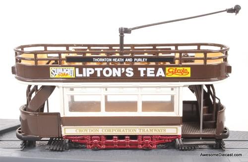 Corgi 1:72 Tramlines Croydon Corporation- Liptons Tea
