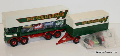 Corgi 1:50 ERF Dodgem Truck & Box Trailer Set Pat Collins Fair