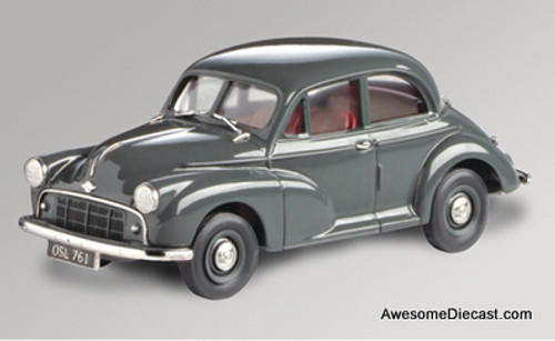 Lansdowne Models 1:43 1952 Morris Minor Series 11 2 Door, Gray