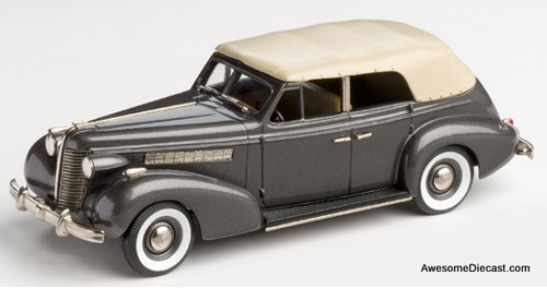 Only One! Buick collection 1:43 1938 Buick Special 4 Door Phaeton M-40C Gray