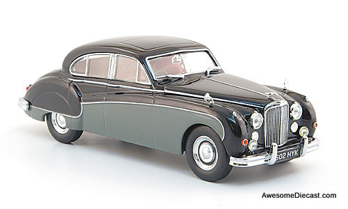 Oxford 1:43 Jaguar MKV111  Black/Gray