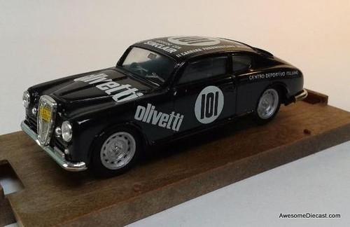 Only One! Brumm 1:43 1951 Lancia Aurelia B20 coupe Black- Olivetti