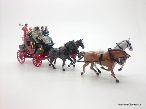 Matchbox 1820 Passenger Coach & Horses: Models of Yesteryear