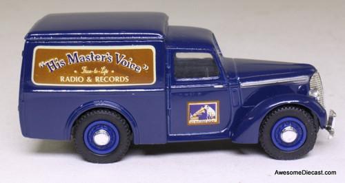 Dinky 1:43 1948 Comma 8 CWT Van: RCA/ His Masters Voice
