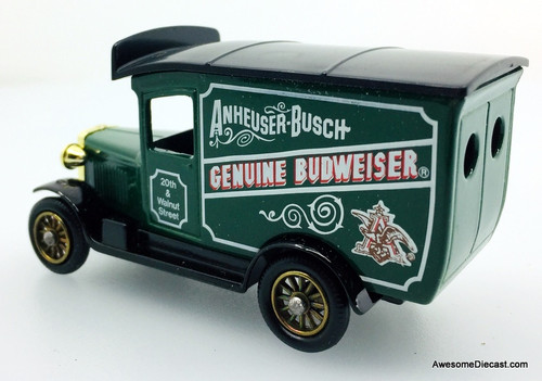 Lledo 1:60 Budweiser Delivery Truck, Green