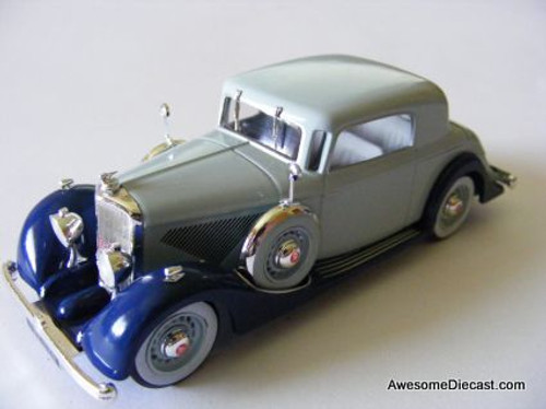 Ixo 1:43 1935 Panhard 6CS Faux Cabriolet, Blue
