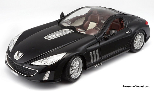 Only One!! Burago 1:18 Peugeot 907 V12 Concept Car, Black