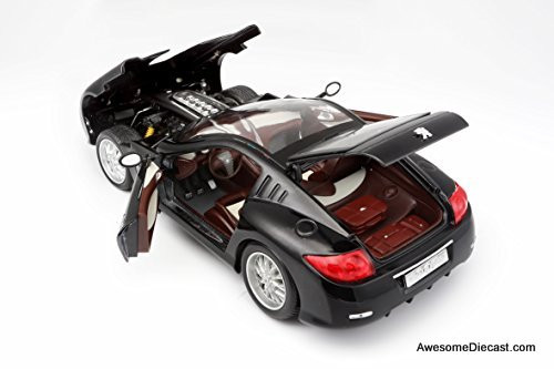 Only One! Bburago 1:18 Peugeot 907 V12 Concept Car, Black