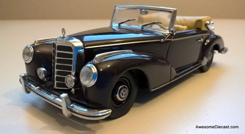 Minichamps 1:43 1951 Mercedes 300s Convertible, Maroon
