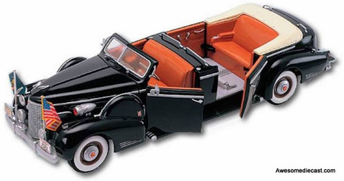 Yat Ming 1:24 1939 Lincoln Sunshine Special: Presidential Limousine Convertible