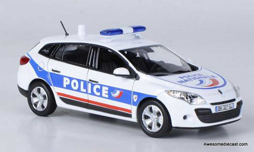 Norev 1:43 2016 Renault Megane Wagon: French National Police