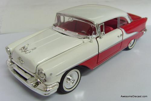 Arko 1:32 1955 Oldsmobile Super 88 Holiday Hardtop, Red/White